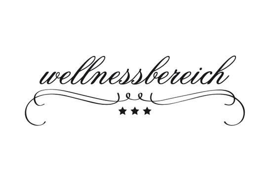 schwarz/weiss Ansicht - Wandtattoo Wellnessbereich