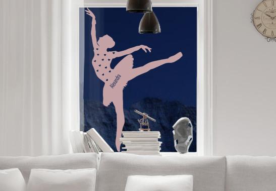 Glasdekor Wunschtext Grazile Ballerina - Bild 4