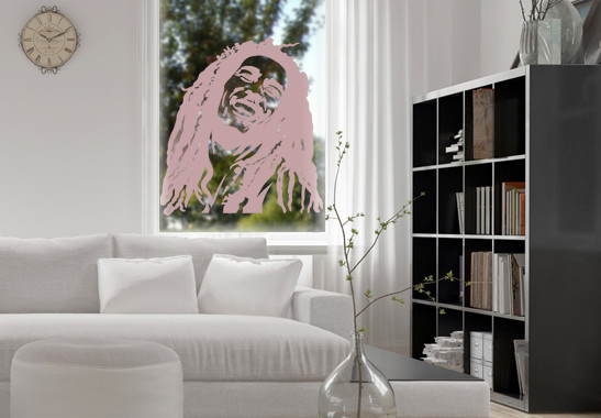 Glasdekor Bob Marley - Bild 4