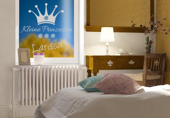 Glasdekor Wunschtext Kleine Prinzessin - Bild 2
