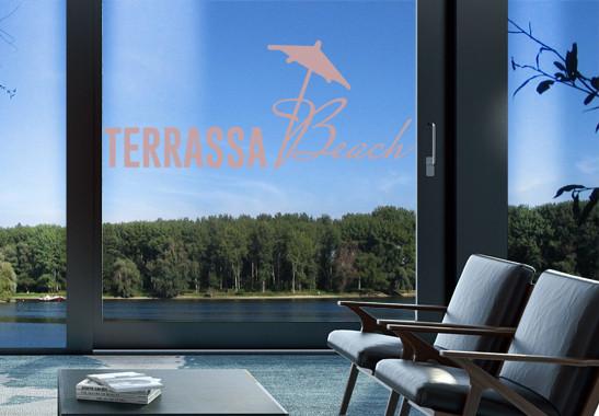 Glasdekor Terrassa Beach - Bild 4