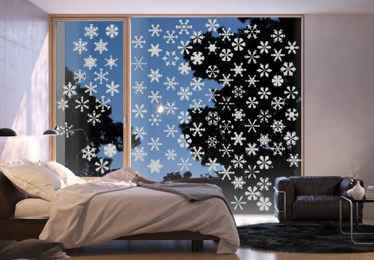 Glasdekor Schneesturm - Bild 2