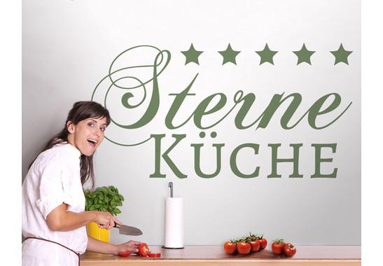 Wandtattoo 5-Sterne Küche