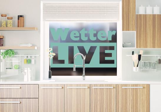 Glasdekor Livewetter - Bild 5