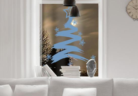 Glasdekor Sternenbaum