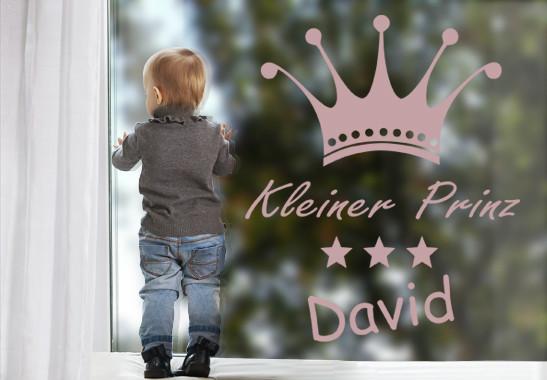 Glasdekor Wunschtext Prinz - Bild 4