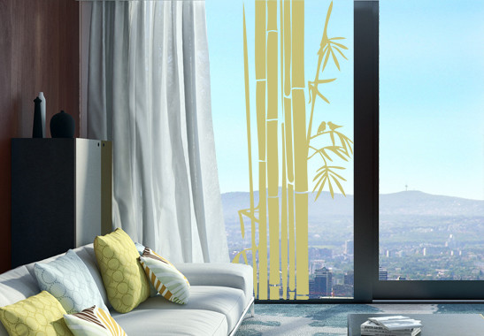 Glasdekor Bambusstrauch - Bild 3