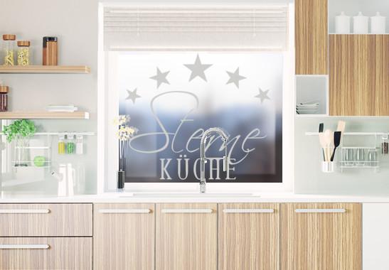Glasdekor 5-Sterne Küche