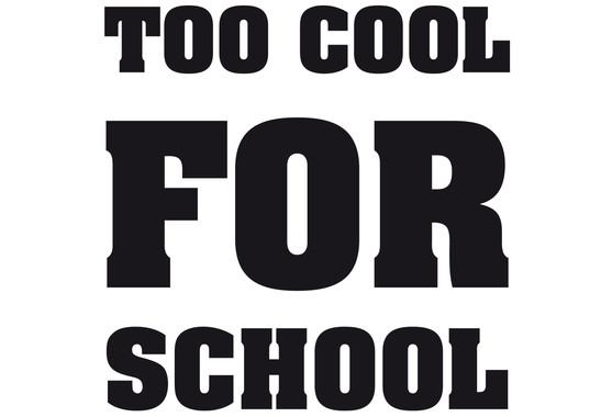 Glasdekor Too cool for school - Bild 6