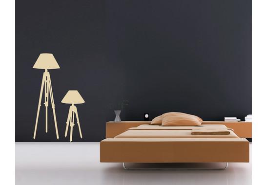 Wandtattoo Design classics Lampe