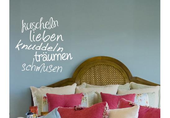 Wandtattoo Kuscheln&more