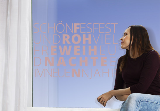 Glasdekor Schönes Fest - Bild 4