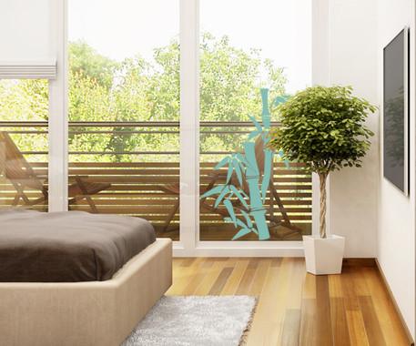 Glasdekor Bambusbäumchen - Bild 5