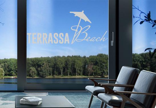 Glasdekor Terrassa Beach - Bild 2