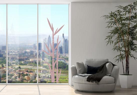 Glasdekor Bambus - Bild 4