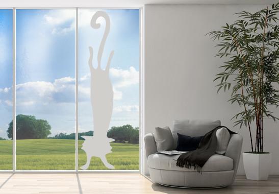 Glasdekor Katzen Handstand - Bild 2