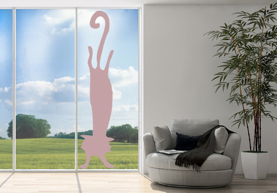 Glasdekor Katzen Handstand - Bild 4