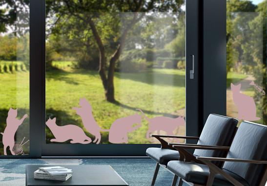 Glasdekor Katzenschwestern - Bild 4