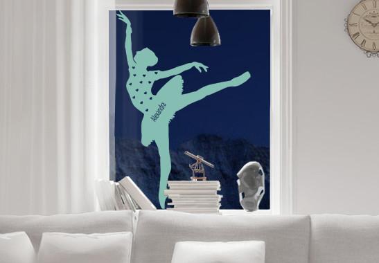 Glasdekor Wunschtext Grazile Ballerina - Bild 5