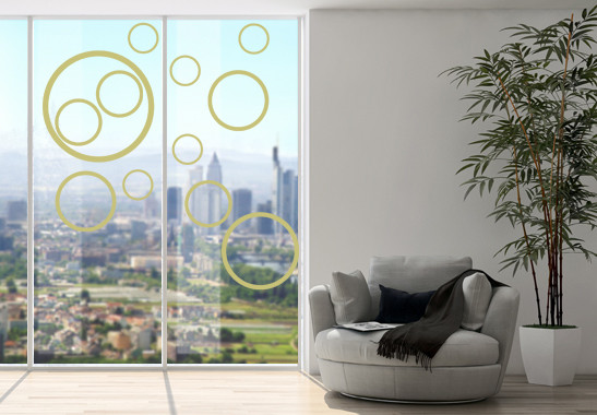 Glasdekor Circles - Bild 3