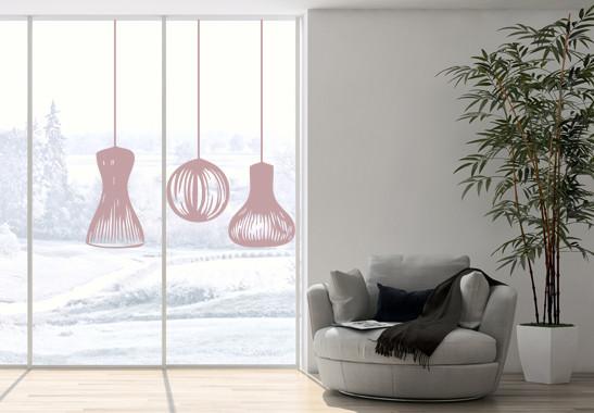 Glasdekor Lampionschirme - Bild 4