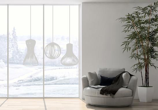 Glasdekor Lampionschirme - Bild 2