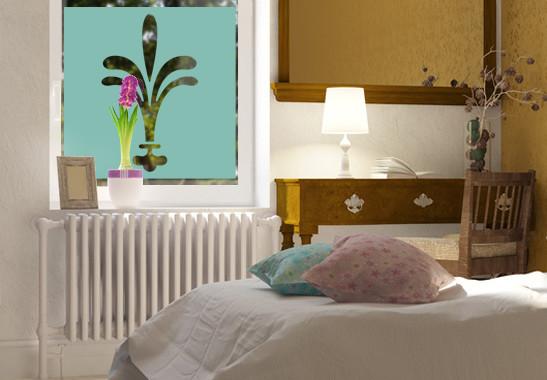 Sichtschutz Lilien Ornamentik - Bild 5