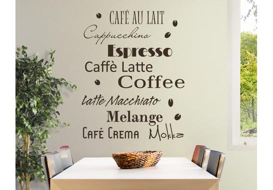 Wandtattoo Coffee Scents