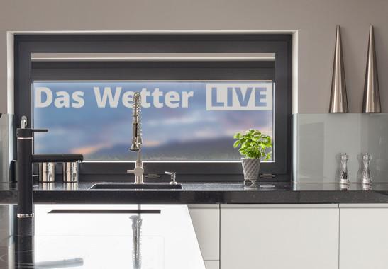 Glasdekor Live Wetter - Bild 2