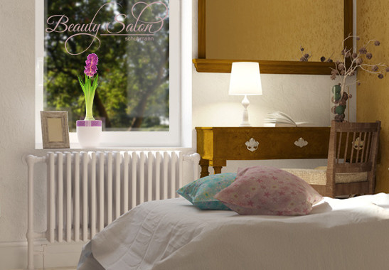 Glasdekor Wunschtext Beauty Salon - Bild 4