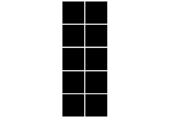 Fliesenaufkleber Mono 10er Set - Bild 2