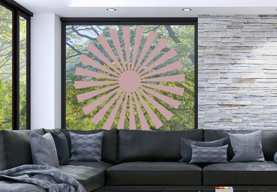 Glasdekor Sonnensymbol - Bild 4