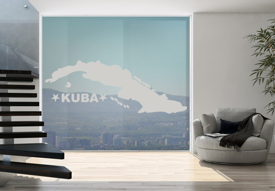 Glasdekor Kuba - Bild 2