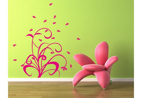 Wandtattoo Blüten im Wind