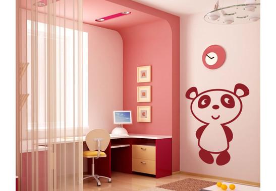 Wandtattoo Pandabär