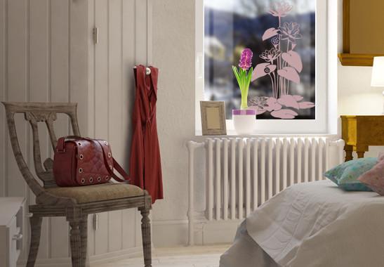 Glasdekor Herbstbäumchen - Bild 4