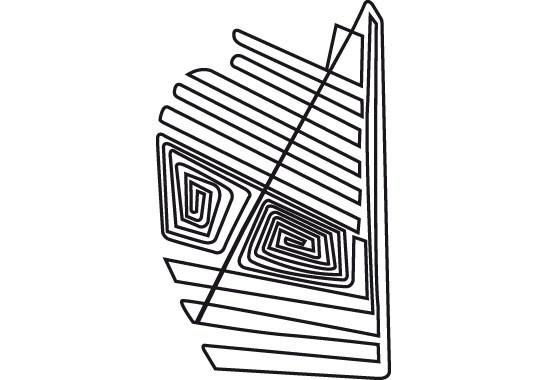 Glasdekor Nazca Linien - Bild 6