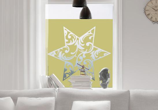 Glasdekor Eisstern - Bild 3