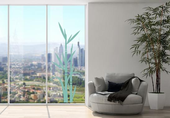 Glasdekor Bambus - Bild 5