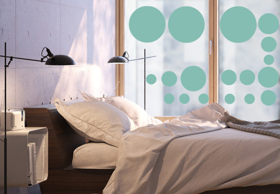 Glasdekor Pünktchen Set - Bild 5
