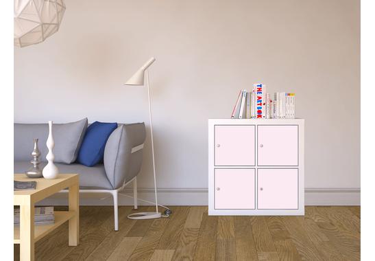 Möbelfolie Pink 4 für Kallax 4 Türelemente - Möbelfolie Pink 4 (Kallax 4 Türelemente)