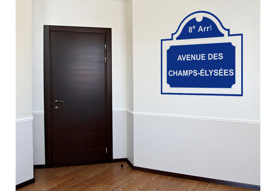 Wandtattoo Champs-Èlysées