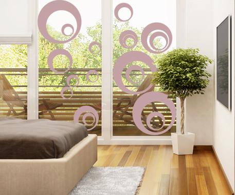 Glasdekor Retro Kreise - Bild 4