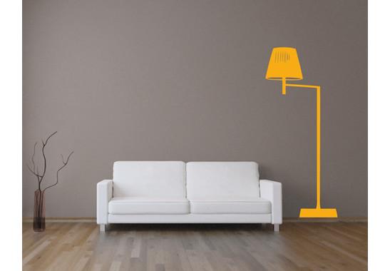Wandtattoo Design classics Stehlampe