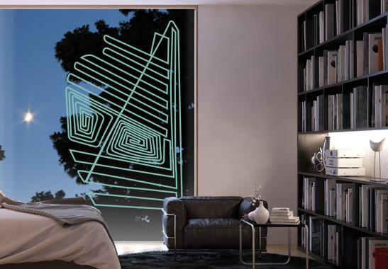 Glasdekor Nazca Linien - Bild 5