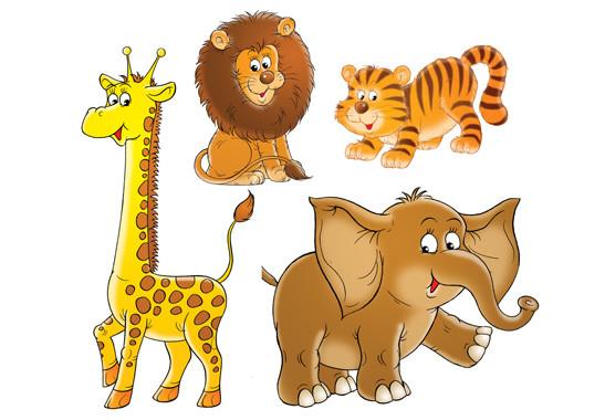 Fenstersticker Wilder Zoo - Bild 2