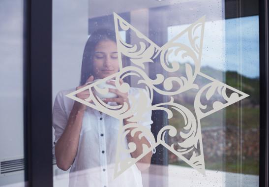 Glasdekor Eisstern - Bild 2