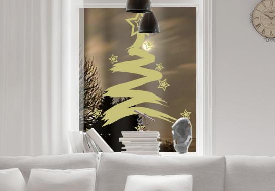 Glasdekor Sternenbaum - Bild 3