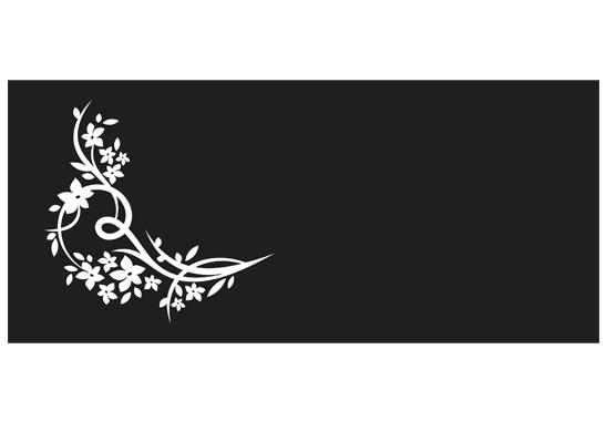 Sichtschutz Florales Eck - Bild 6