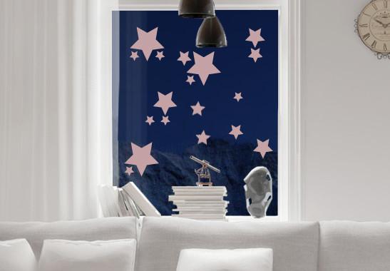 Glasdekor Funkelnde Sterne Set - Bild 4